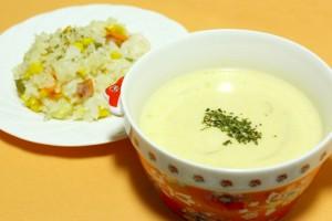 コーンポタージュとコーンスープの違いは?